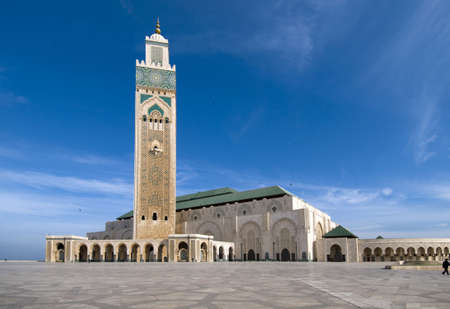 Hassan II Mosque - Casablanca - Best of Morocco Stock Photo