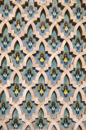 Mosaic detail - Hassan II Mosque - Casablanca - Best of Morocco photo