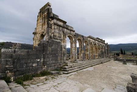 Volubilis - Roman ruins near Fez and Meknes - Best of Morocco photo