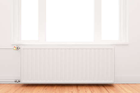 central heating radiator conceptual of increasing costs of energy Stock Photo - 11603011