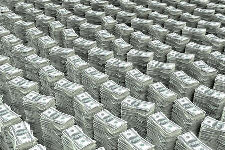 pieniądze: Stos pieniÄ™dzy