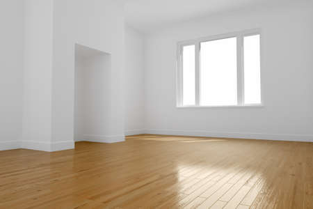 Empty room photo