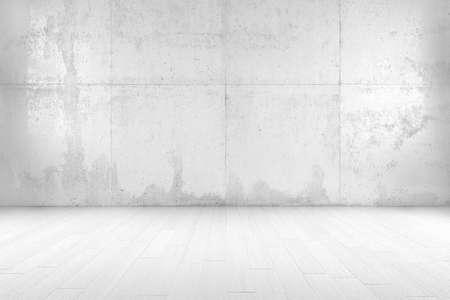 pokoj: Bílý pokoj s kopií vesmíru a dřevěné podlahy