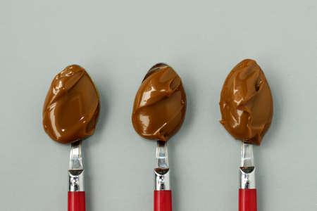 Dulce De Leche Spoons. Sweet milk spoon