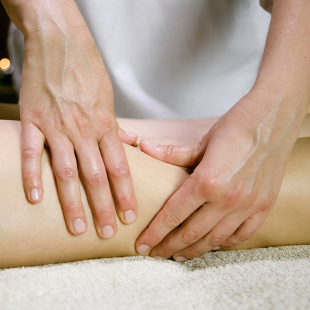 footcare: massage to reduce cellulite and preserve an healthy look