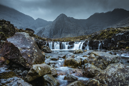 Fairy Pools at the Isle of Skye