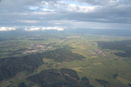 Balloon ride over the Allgu
