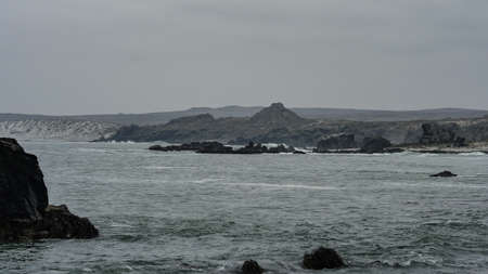 Chile ocean wild view coastline 写真素材