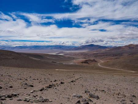 Chile atacama desert view mountains