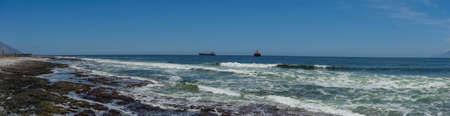 Chile antofagasta city ocean view