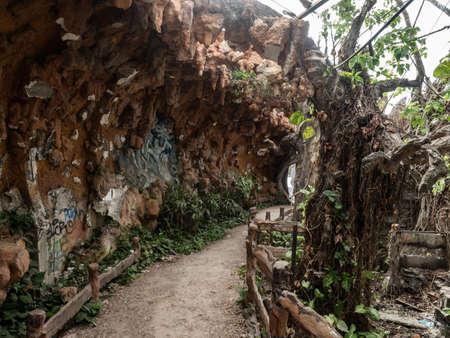 Vietnam Hue Water Park Lost Place way