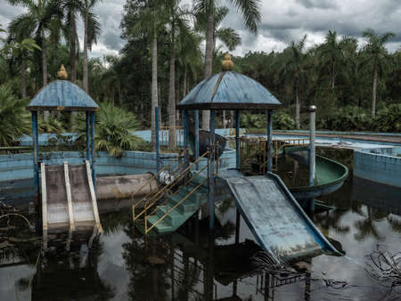 Vietnam Hue Water Park Lost Place child pool
