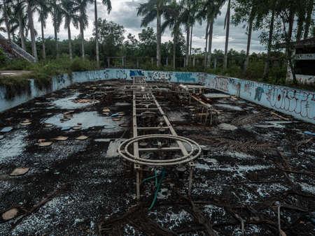 Vietnam Hue Water Park Lost Place pool