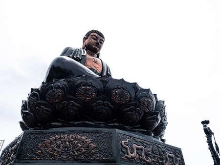 Vietnam Sapa Fansipan budda statue view