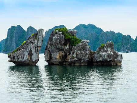 Vietnam Halong Bay boat tour symbol