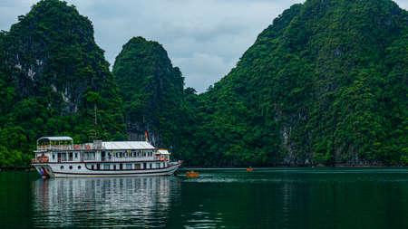 Vietnam Halong Bay boat tour view