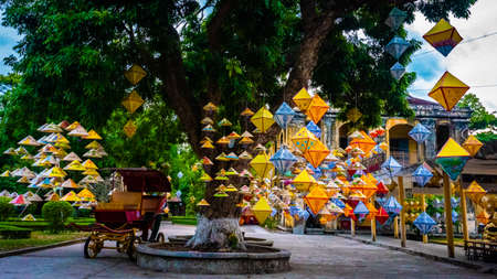 Vietnam Unseco old imperial city hue laterns