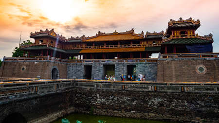 Vietnam Unseco old imperial city hue castle