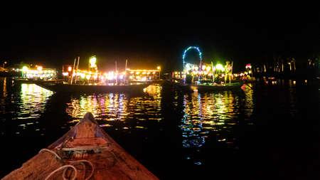 Beautiful Hoi an night market view