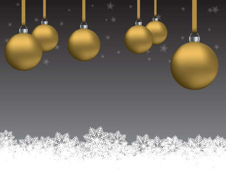 Card, flyer or poster background on the theme of Christmas or the New Year