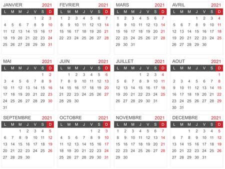 2021 calendar template for agenda, planning, organizer