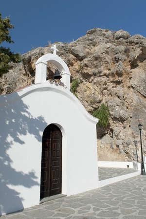 lindos: Lindos  Rhodes, Greece Stock Photo