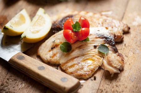 latin food: Sword fish fillet