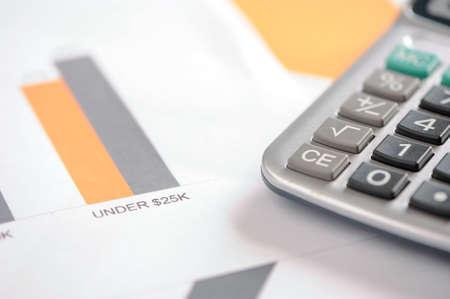 Finance-Dokumente Lizenzfreie Bilder