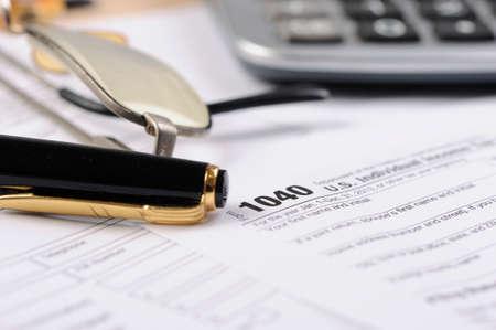 irs: 1040 IRS Tax Form