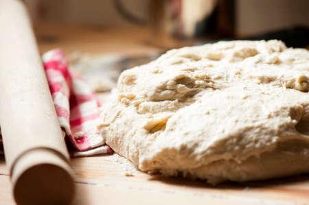 the dough: masa para pan