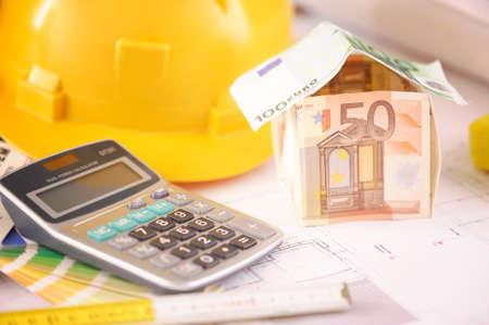 Haus aus Geld