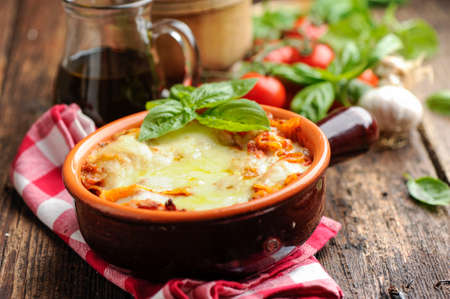 Lasagna Standard-Bild