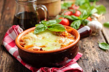 Lasagne Stockfoto - 43744112
