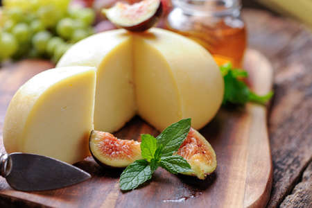 fig: Fig and cheese Stock Photo