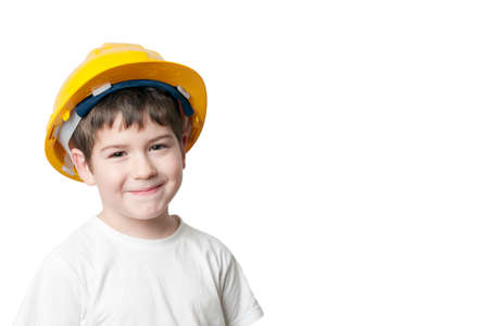 Little Boy Architect Stock Photo - 45019638