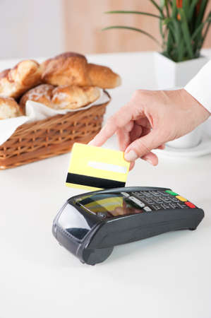 paying: Paying with credit card