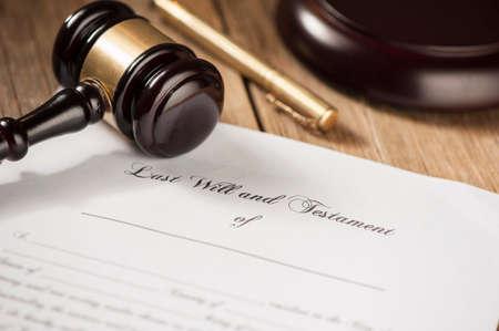 testament: Last will testament
