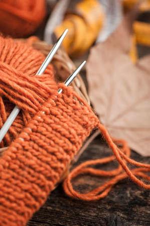 plain stitch: Knitting