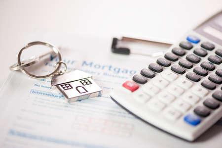 Hypothekenantragsformular Lizenzfreie Bilder