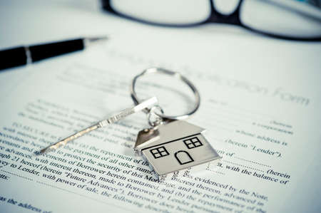 homeowner: mortgage application form