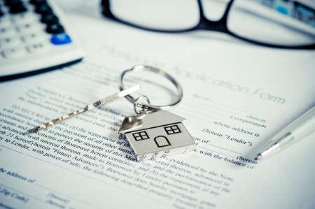 mortgage application: mortgage application form