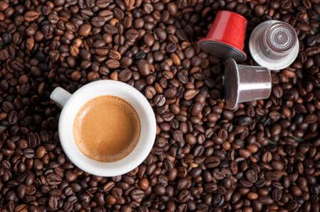 maquina vapor: café