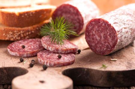air dried: salami