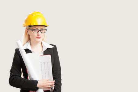 female architect: Female architect Stock Photo