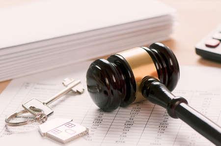 rental: Rental contract Stock Photo