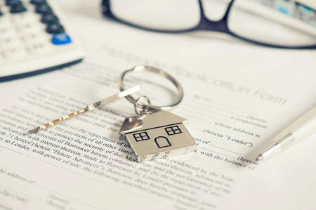 mortgaging: Mortgage Stock Photo