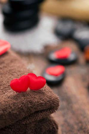 Valentine day. Wellness decoration