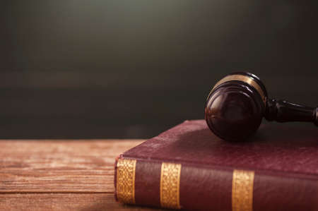golden rule: Gavel And Law Book