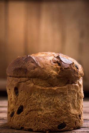 Italian Christmas cake. Home made Panettone