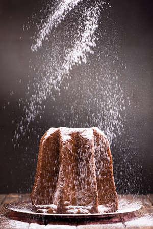 Pandoro italian chirstmas cake
